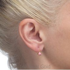 Earrings - Torti Tortoise