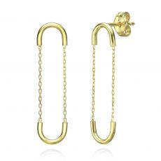 14K Yellow Gold Women's Earrings - Expander