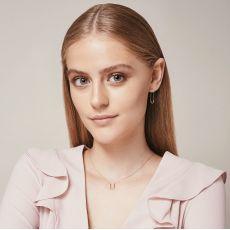 14K White Gold Women's Earrings - Expander