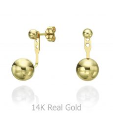 Ear Jacket in 14K Yellow Gold - Venus & Mars