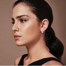 14K Yellow Gold Women's Earrings - Ariel & Neptune