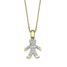 Pendant in Yellow Gold - Danny Boy