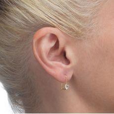 Earrings - Heart of Light