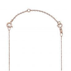 14K Rose Gold Extension Chain - 6cm (2.4 inch)