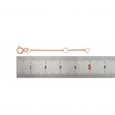 14K Rose Gold Extension Chain - 5cm (1.96 inch)