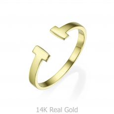14K Yellow Gold Rings - Robin