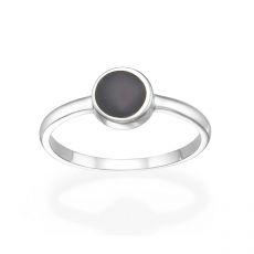 14K White Gold Rings - Neptune