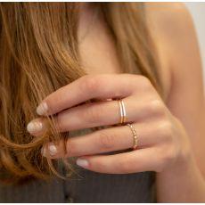 14K Yellow Gold Ring - Cher