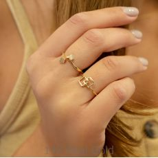14K Yellow Gold Rings - Florence