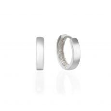 14K White Gold Women's Earrings - Orlando