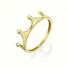 14K Yellow Gold Rings -The Crown