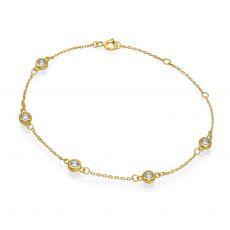14K Yellow  Gold Women's Bracelets - Blake