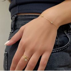 14K Yellow Gold Women's Bracelets - Camila