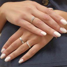 14K White Gold Ring - Madrid Seal