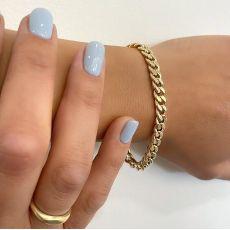 14K Yellow Gold Women's Bracelets - links
