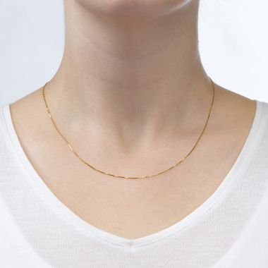 Venice Necklace - Classically Delicate, 0.53 MM