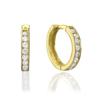 Huggie Gold Earrings - Paris