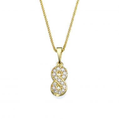 Gold Pendant - Infinite Sparkle