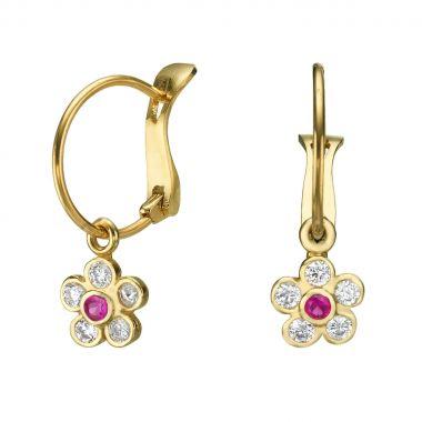 Earrings - Daisy Flower