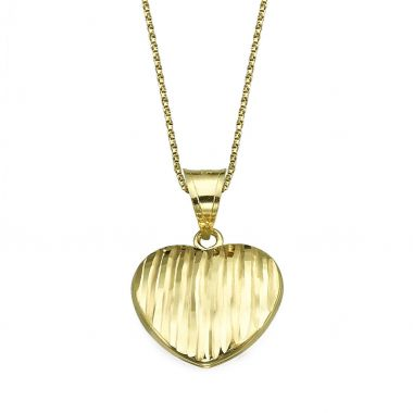 Pendant in Yellow Gold - Winning Heart