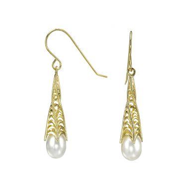 Drop and Dangle Earrings - Noble Pearl