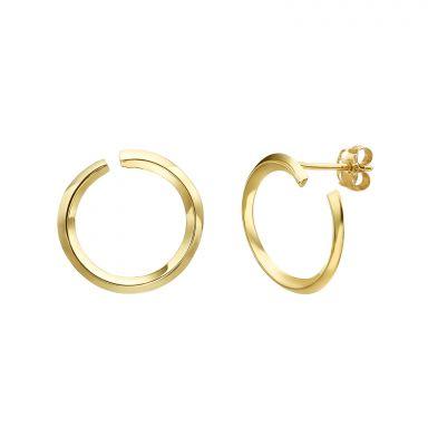 14K Yellow Gold Women's Earrings - Sunrise
