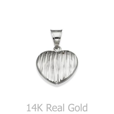 Pendant in White Gold - Winning Heart