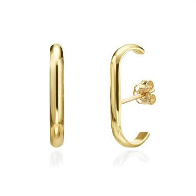 14K Yellow Gold Women's Earrings - Sunshine