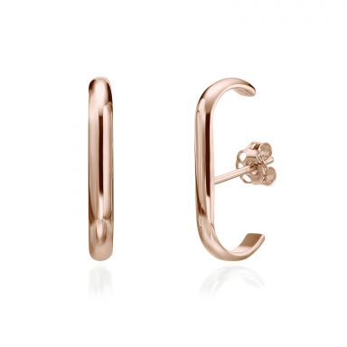 Cuff Earrings in 14K Rose Gold  - Sunshine