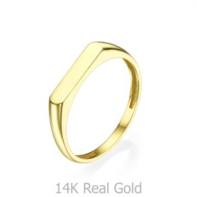 Ring in 14K Yellow Gold - Signet