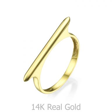 Ring in 14K Yellow Gold - Line