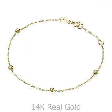 Women's Bracelet in 14K Yellow Gold - Jasmine