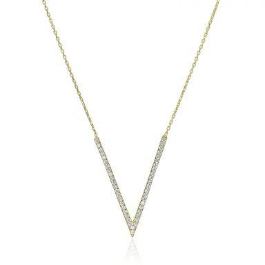 14k yellow gold women's pandants - Valeria