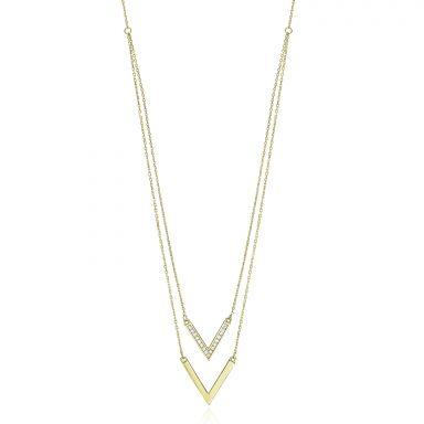14k yellow gold women's pandants - Violet