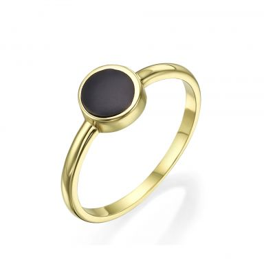 14K Yellow Gold Rings - Neptune