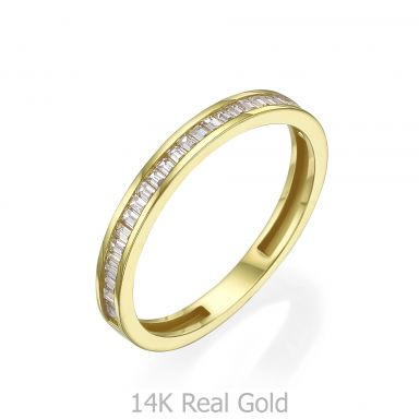 14K Yellow Gold Rings - Roma