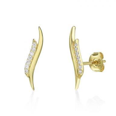 14K Yellow Gold Women's Earrings - Seychelles