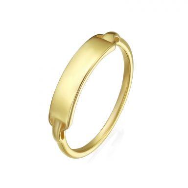 14K Yellow Gold Ring - Madrid Seal
