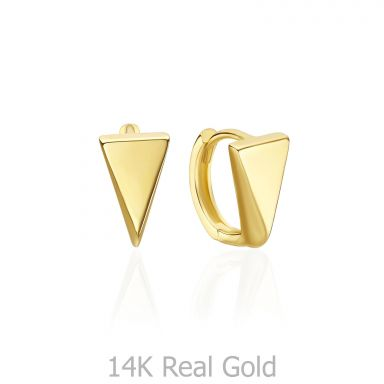 14K Yellow Gold Women's Earrings - London