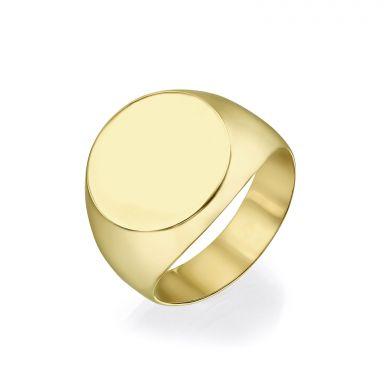 14K Yellow Gold Rings -Mumbai  Seal