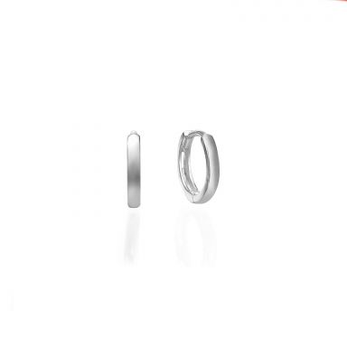 14K Yellow Gold Women's Hoop Earrings - Sher hoops