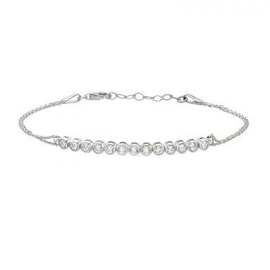 14K White  Gold Women's Bracelets - Peyton