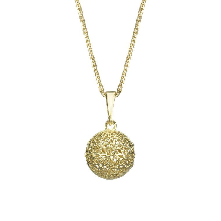 Gold Pendant - Golden Globe