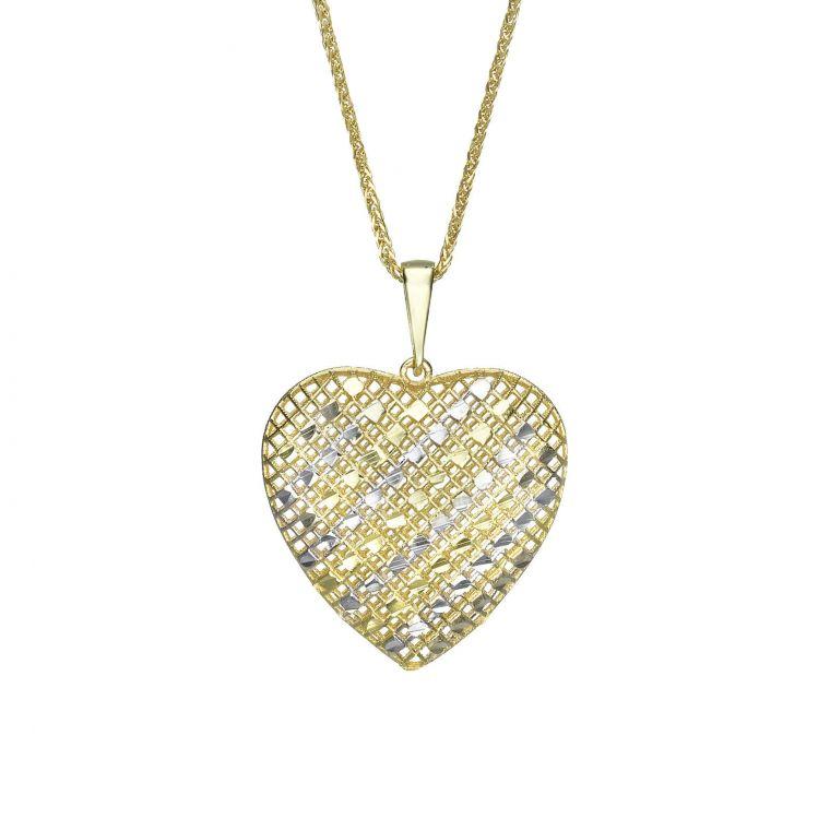 Gold Pendant - Belle's Heart