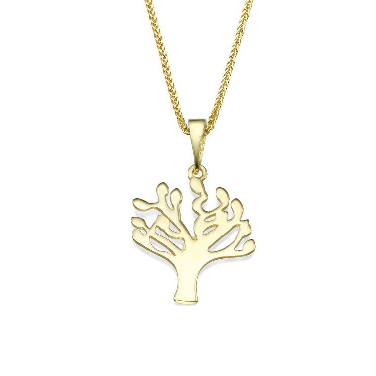 Gold Pendant - Tree of Life