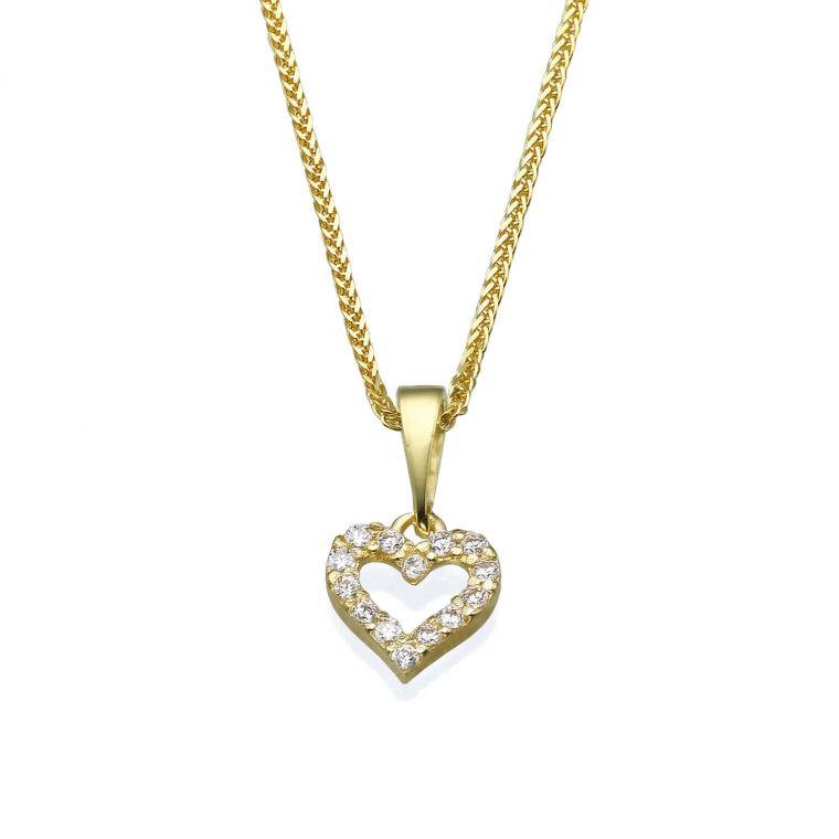 Gold Pendant - Heart of Splendor
