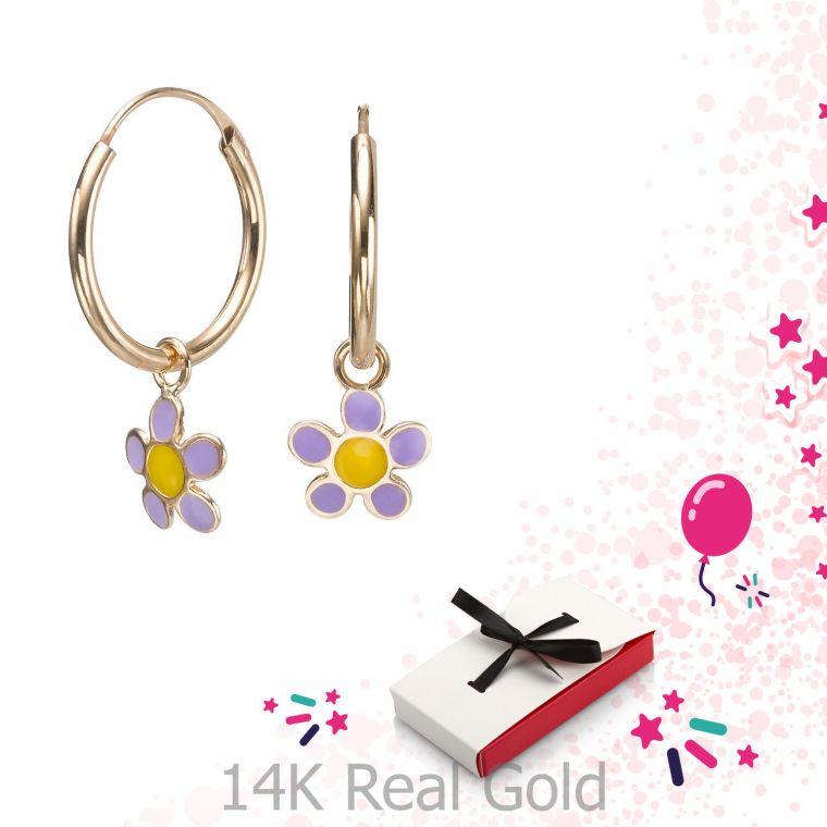 Earrings - Selina Flower