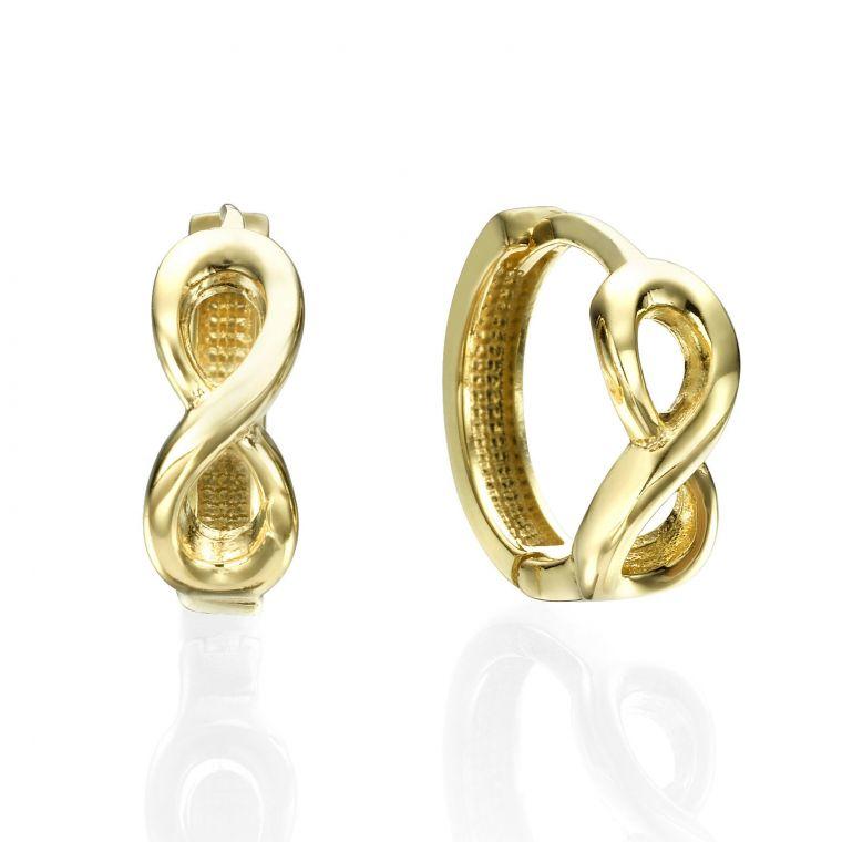 Huggie Gold Earrings - Song Bird