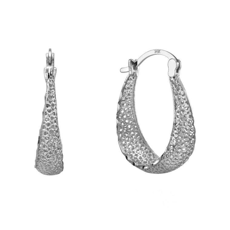 Gold Hoop Earrings - Hoops of Radiance